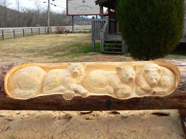 Sculptura in lemn de Randall D.Boni - Poza 13