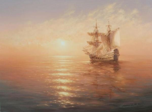 35 de picturi: Marea si corabiile - Poza 6
