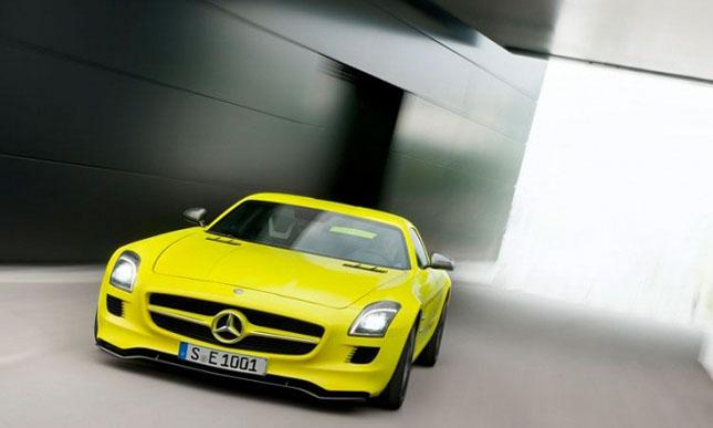 Prototipul Mercedes-Benz SLS AMG E-Cell - Poza 8