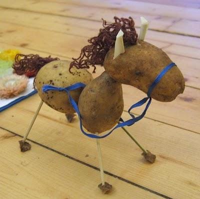 Sculptura in... cartofi! - Poza 7