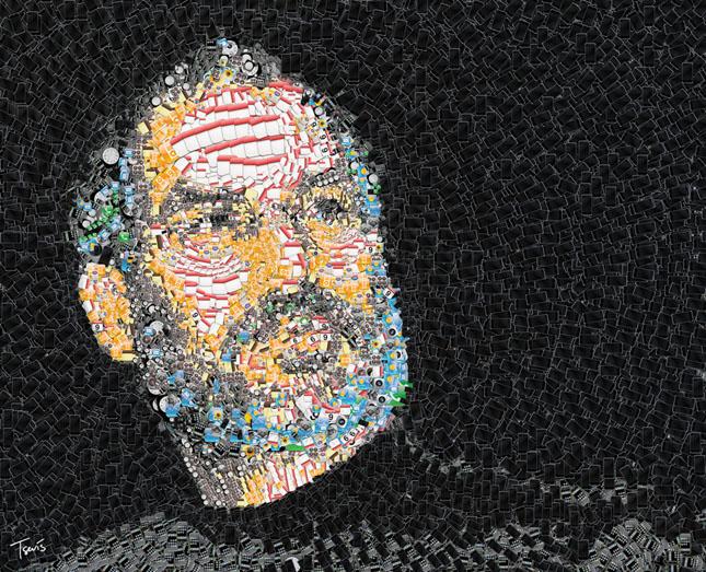 Portrete uimitoare in mozaic - Poza 11
