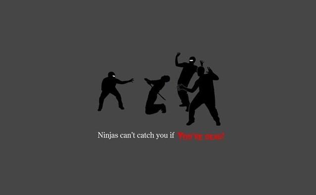 Ninja nu pot sa te prinda - Poza 13