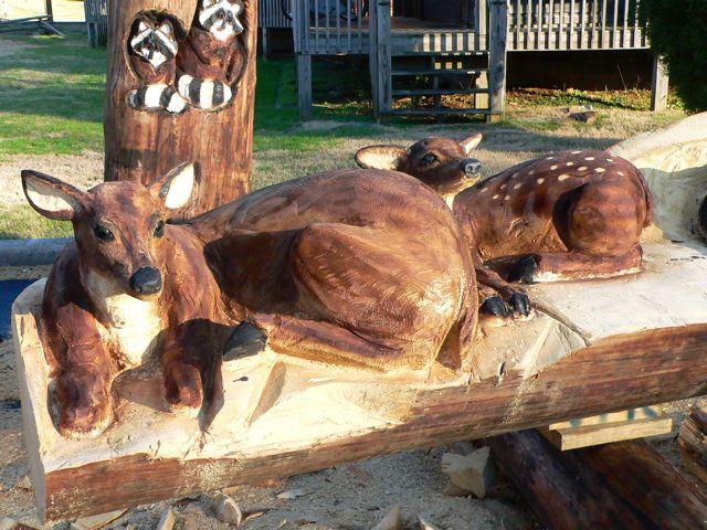 Sculptura in lemn de Randall D.Boni - Poza 14
