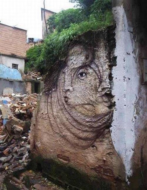 Exemple impresionante de graffiti