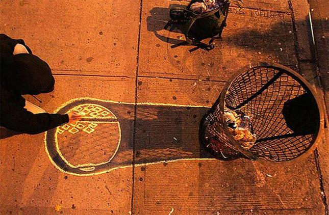 Opere stradale bazate pe umbre - Poza 20