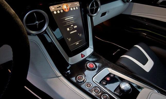 Prototipul Mercedes-Benz SLS AMG E-Cell - Poza 9