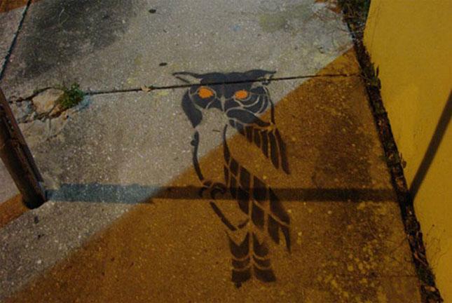 Opere stradale bazate pe umbre - Poza 21