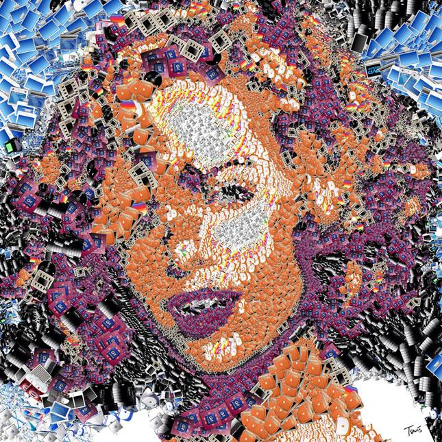 Portrete uimitoare in mozaic - Poza 1