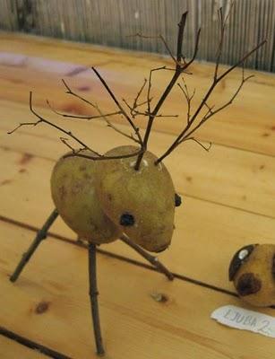 Sculptura in... cartofi! - Poza 9
