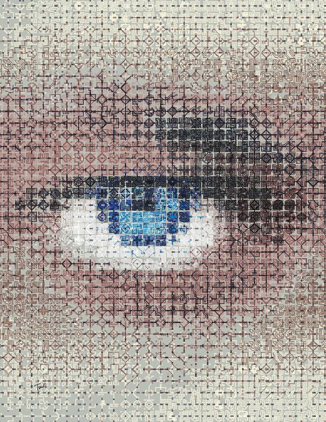 Portrete uimitoare in mozaic - Poza 2