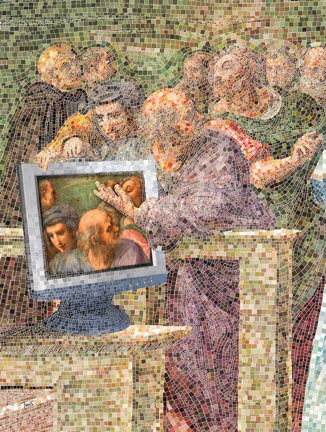 Portrete uimitoare in mozaic - Poza 4