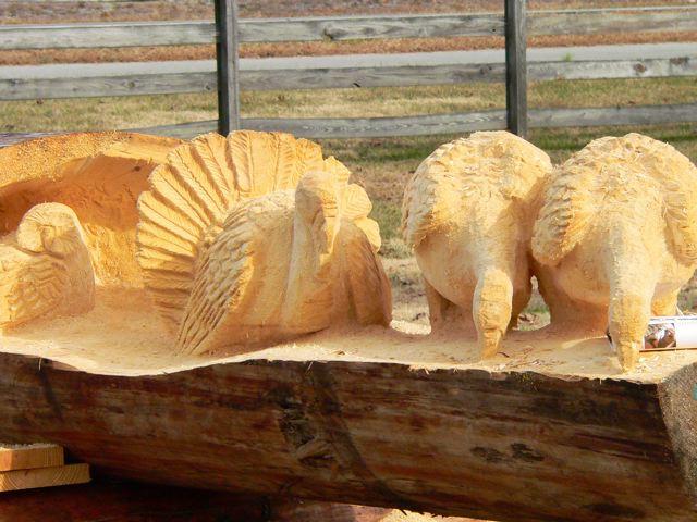 Sculptura in lemn de Randall D.Boni - Poza 16