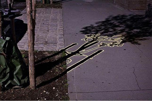 Opere stradale bazate pe umbre - Poza 23