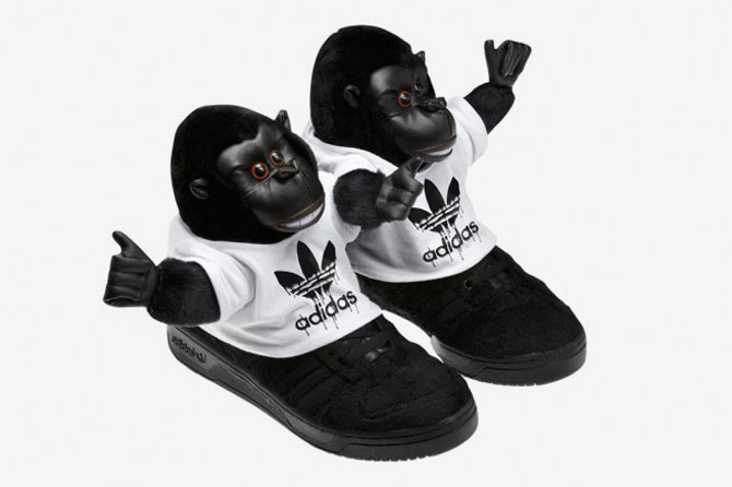 Urangutani, denim, animal print – Adidas?! - Poza 6