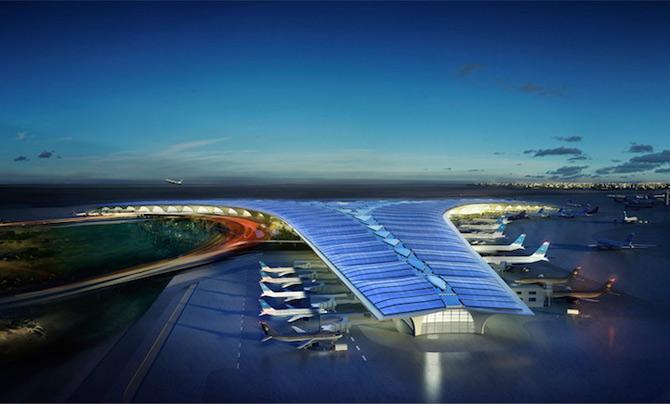 Aeroportul cu vele acostat in Kuweit - Poza 1