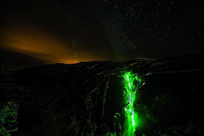 Alpinism pe cascadele inghetate din Norvegia - Poza 6