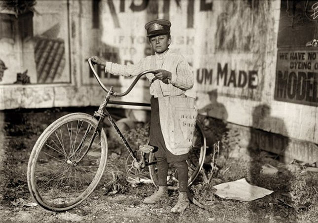 40 de fotografii clasice ai copiilor americani
