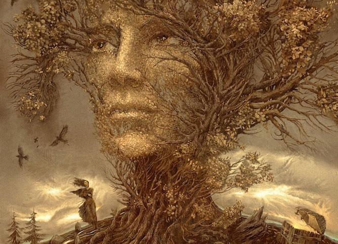 Suprarealism complex in desenele lui Andrew Ferez - Poza 1
