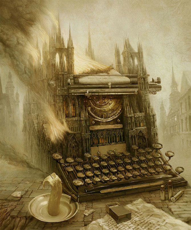 Suprarealism complex in desenele lui Andrew Ferez - Poza 2