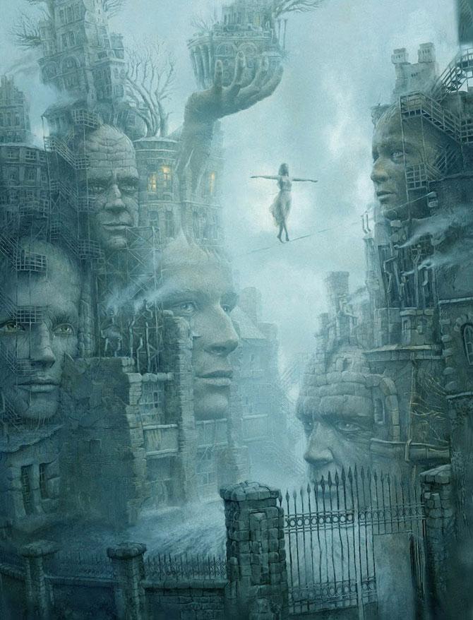Suprarealism complex in desenele lui Andrew Ferez - Poza 3