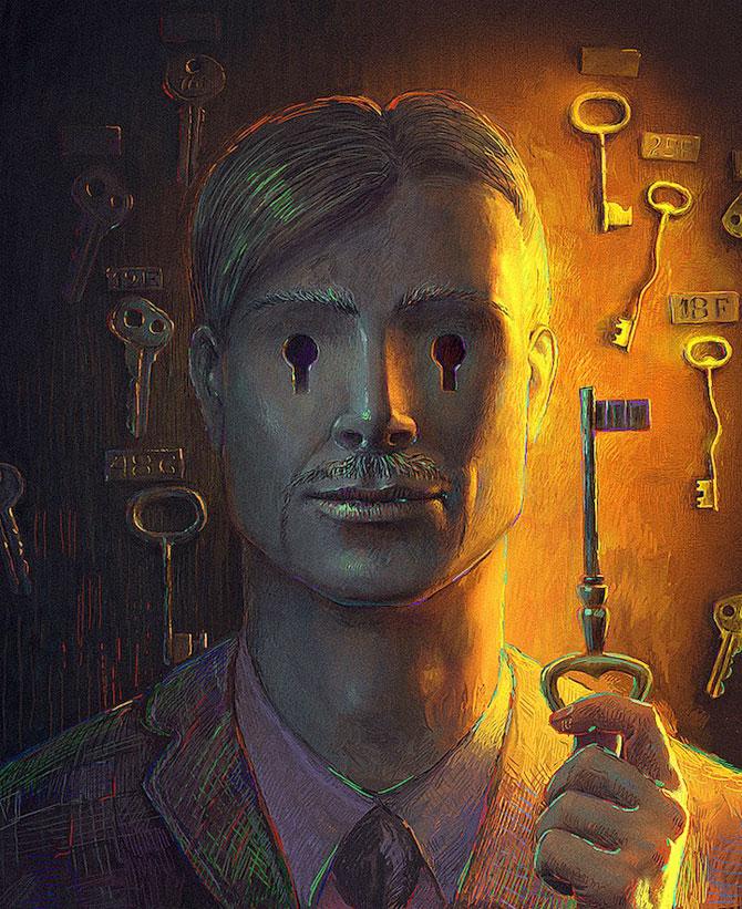 Suprarealism complex in desenele lui Andrew Ferez - Poza 7