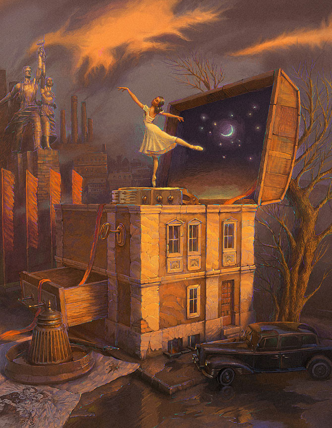 Suprarealism complex in desenele lui Andrew Ferez - Poza 8