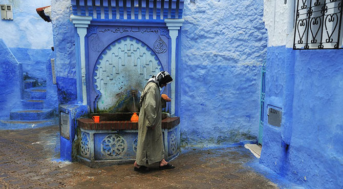 Chefchaouen: un loc magic - Poza 12