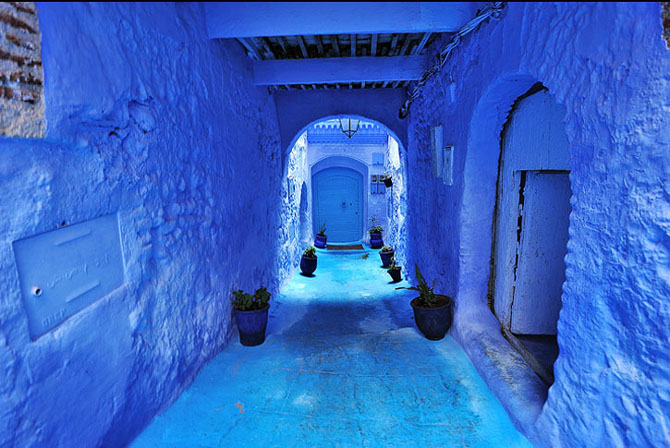 Chefchaouen: un loc magic - Poza 1