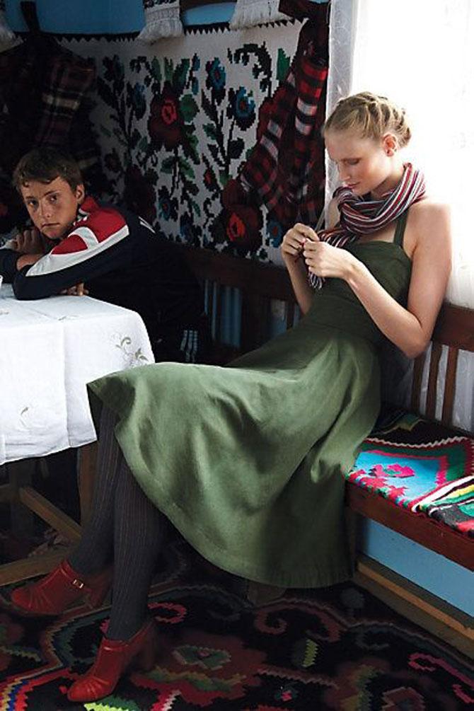 Moda maramureseana in noua colectie Anthropologie - Poza 9