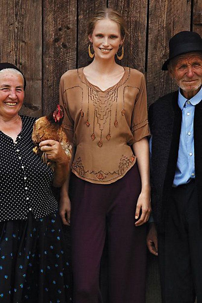 Moda maramureseana in noua colectie Anthropologie - Poza 10