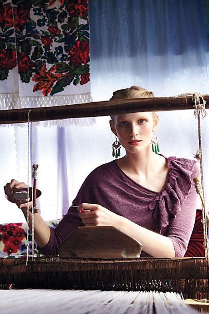 Moda maramureseana in noua colectie Anthropologie - Poza 11