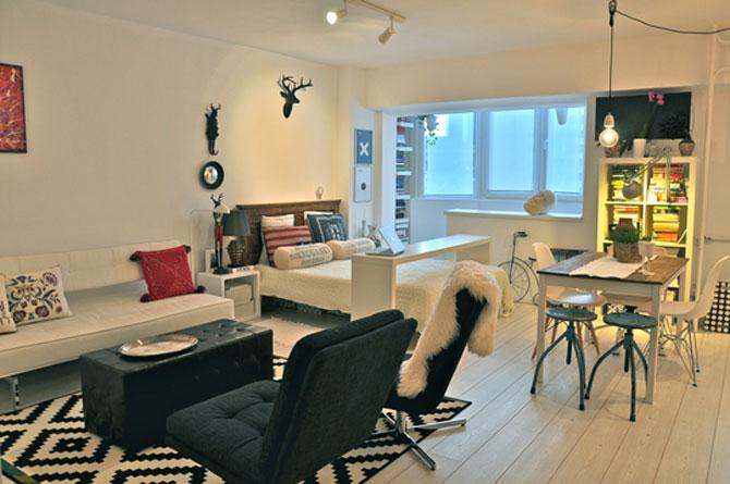Bucuresti: Apartament de 38 mp in stil suedez - Poza 1