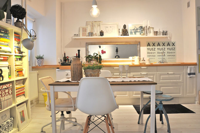 Bucuresti: Apartament de 38 mp in stil suedez - Poza 2