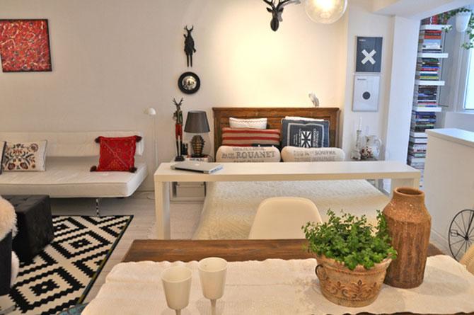 Bucuresti: Apartament de 38 mp in stil suedez - Poza 3