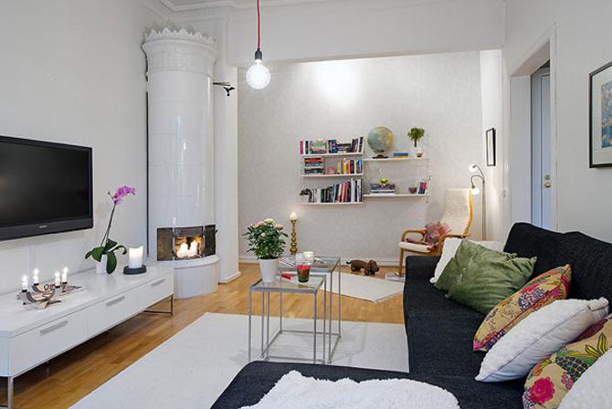 56 mp in alb, in gri, in Suedia - Poza 1