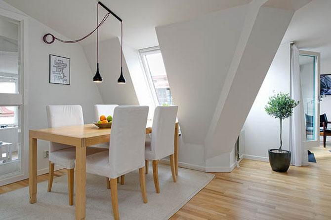 90 de metri patrati de lumina in Suedia - Poza 6