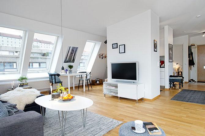 59 mp de eleganta simpla in Suedia - Poza 4