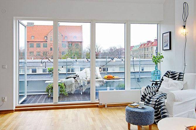 59 mp de eleganta simpla in Suedia - Poza 5