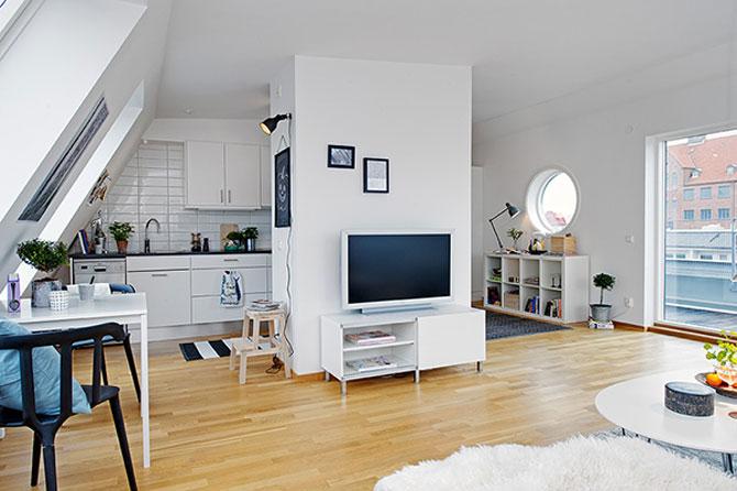 59 mp de eleganta simpla in Suedia - Poza 6
