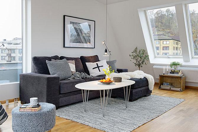 59 mp de eleganta simpla in Suedia - Poza 7