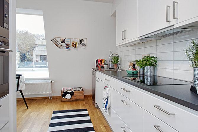 59 mp de eleganta simpla in Suedia - Poza 8