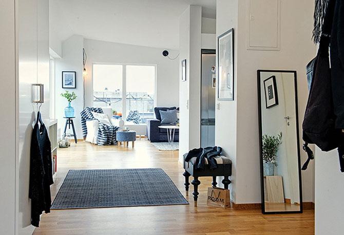 59 mp de eleganta simpla in Suedia - Poza 12