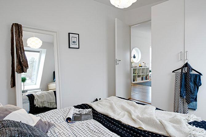 59 mp de eleganta simpla in Suedia - Poza 13