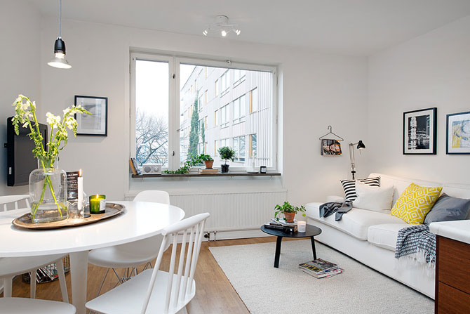 Apartament mic, shabby chic, la Gothenburg - Poza 1
