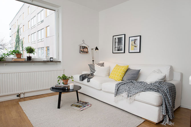 Apartament mic, shabby chic, la Gothenburg - Poza 3