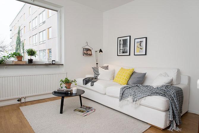 Apartament mic, shabby chic, la Gothenburg - Poza 3