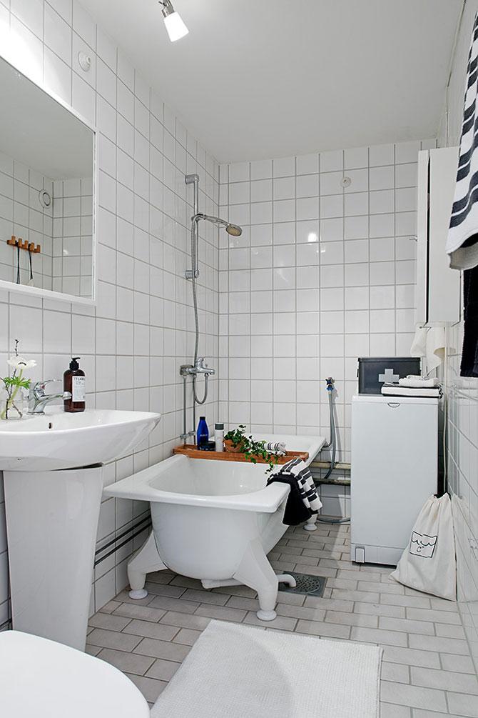 Apartament mic, shabby chic, la Gothenburg - Poza 12