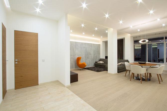Apartament luminat elegant cu LED-uri la Sankt Petersburg - Poza 2