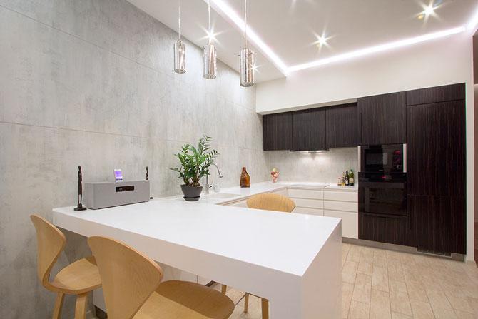Apartament luminat elegant cu LED-uri la Sankt Petersburg - Poza 3