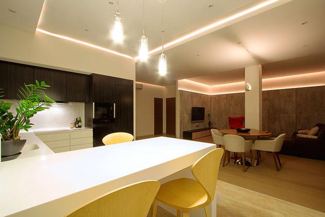 Apartament luminat elegant cu LED-uri la Sankt Petersburg - Poza 5